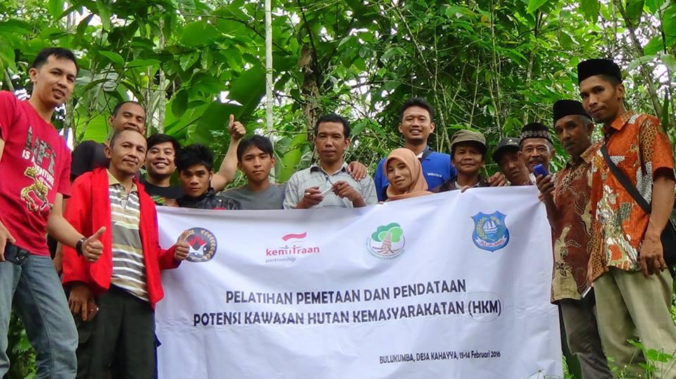 Pelatihan Pemetaan dan Pendataan Potensi Hutan Kemasyarakatan